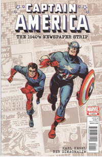 Cover Thumbnail for Captain America The 1940s Newspaper Strip (Marvel, 2010 series) #1