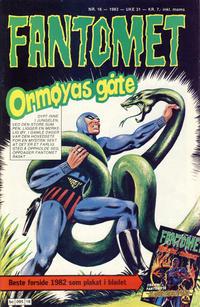 Cover Thumbnail for Fantomet (Semic, 1976 series) #16/1983