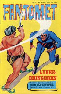 Cover Thumbnail for Fantomet (Semic, 1976 series) #15/1983