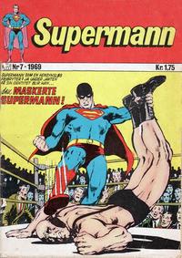 Cover Thumbnail for Supermann (Illustrerte Klassikere / Williams Forlag, 1969 series) #7/1969