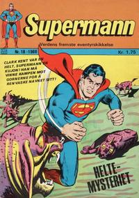 Cover Thumbnail for Supermann (Illustrerte Klassikere / Williams Forlag, 1969 series) #18/1969