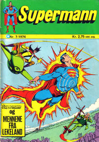 Cover Thumbnail for Supermann (Illustrerte Klassikere / Williams Forlag, 1969 series) #7/1974