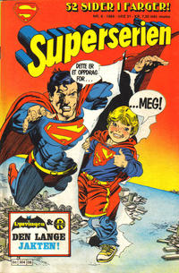 Cover Thumbnail for Superserien (Semic, 1982 series) #8/1984