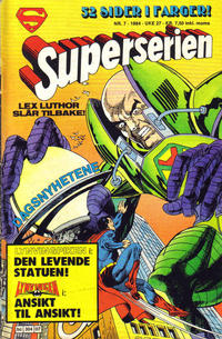 Cover Thumbnail for Superserien (Semic, 1982 series) #7/1984