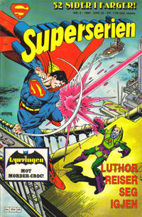 Cover Thumbnail for Superserien (Semic, 1982 series) #6/1984