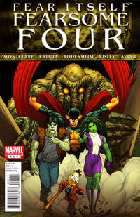 Cover Thumbnail for Fear Itself: Fearsome Four (Marvel, 2011 series) #1