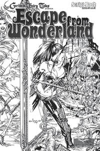 Cover Thumbnail for Escape from Wonderland Script Book (Zenescope Entertainment, 2009 series)