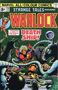Cover Thumbnail for Strange Tales (Marvel, 1973 series) #179 [British Price Variant]