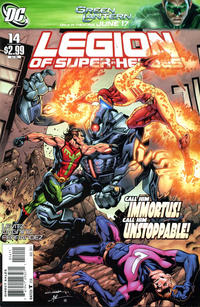 Cover Thumbnail for Legion of Super-Heroes (DC, 2010 series) #14