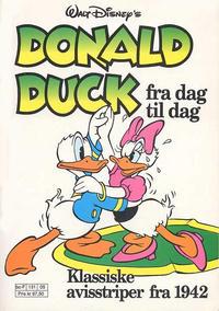 Cover Thumbnail for Donald Duck Fra Dag Til Dag (Hjemmet / Egmont, 1987 series) #5
