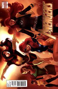 Cover Thumbnail for Avengers (Marvel, 2010 series) #13 [X-Men Evolutions Variant]