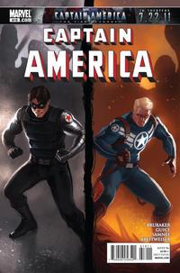 Cover Thumbnail for Captain America (Marvel, 2005 series) #619 [Marko Djurdjevic cover]