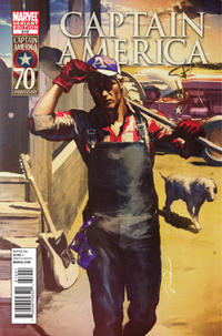 Cover Thumbnail for Captain America (Marvel, 2005 series) #619 [Gerald Parel Variant Cover]