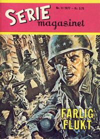Cover Thumbnail for Seriemagasinet (Serieforlaget / Se-Bladene / Stabenfeldt, 1951 series) #11/1977