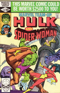 Cover Thumbnail for Marvel Team-Up (Marvel, 1972 series) #97 [Direct Edition]