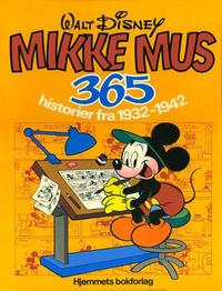 Cover Thumbnail for Jeg-bøkene (Hjemmet / Egmont, 1974 series) #[1979] - Mikke Mus 365 historier fra 1932-1942