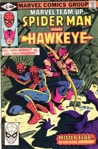 Cover Thumbnail for Marvel Team-Up (Marvel, 1972 series) #92 [Direct Edition]