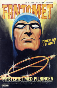 Cover Thumbnail for Fantomet (Semic, 1976 series) #17/1983