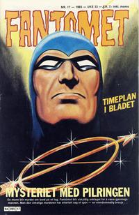 Cover Thumbnail for Fantomet (Semic, 1976 series) #17/1983