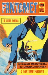 Cover Thumbnail for Fantomet (Romanforlaget, 1966 series) #23/1971