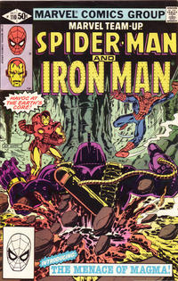 Cover Thumbnail for Marvel Team-Up (Marvel, 1972 series) #110 [Direct Edition]