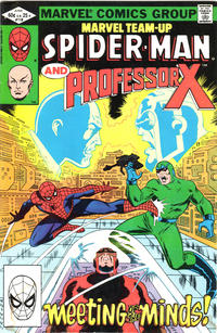 Cover for Marvel Team-Up (Marvel, 1972 series) #118 [Direct]