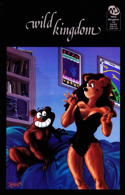 Cover for Wild Kingdom (MU Press, 1993 series) #4