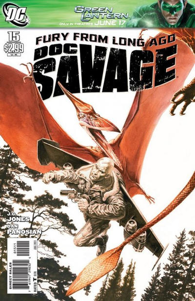Cover for Doc Savage (DC, 2010 series) #15