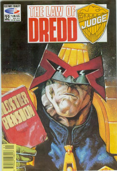Cover for The Law of Dredd (Fleetway/Quality, 1988 series) #32
