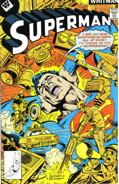 Cover for Superman (DC, 1939 series) #321