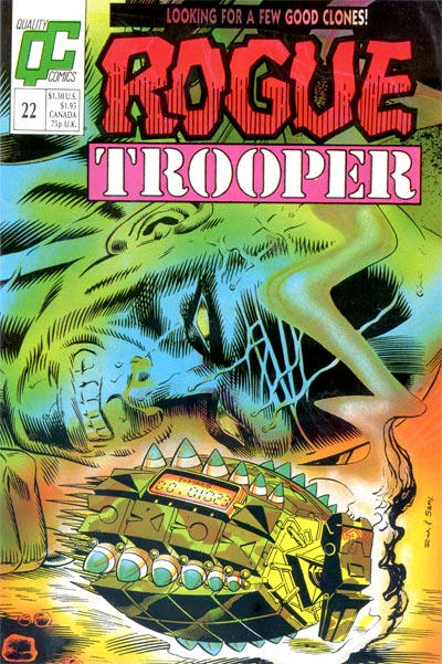 Cover for Rogue Trooper (Fleetway/Quality, 1987 series) #22 [UK]