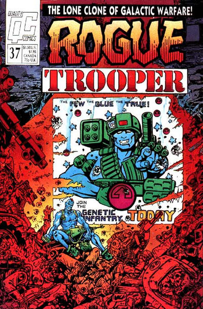 Cover for Rogue Trooper (Fleetway/Quality, 1987 series) #37