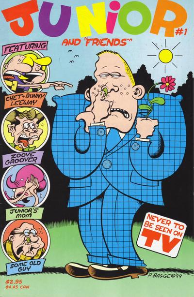 Cover for Junior (Fantagraphics, 2000 series) #1