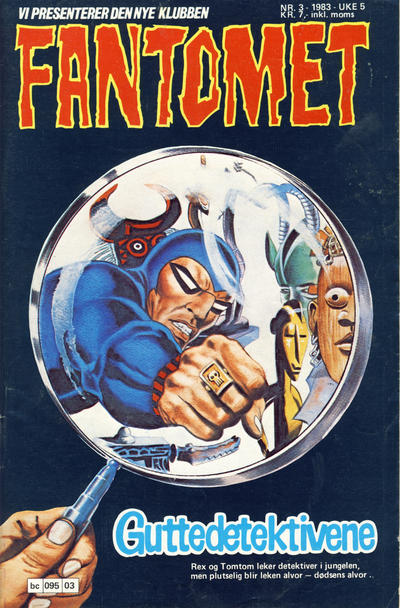 Cover for Fantomet (Semic, 1976 series) #3/1983
