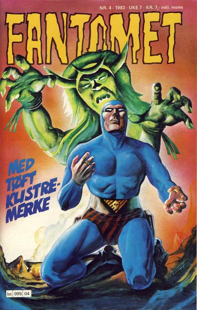 Cover for Fantomet (Semic, 1976 series) #4/1983
