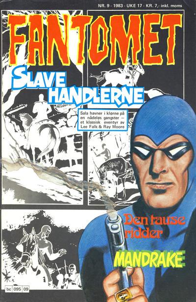Cover for Fantomet (Semic, 1976 series) #9/1983
