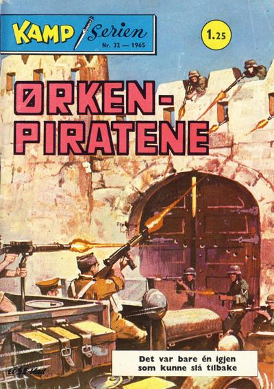 Cover for Kamp-serien (Serieforlaget / Se-Bladene / Stabenfeldt, 1964 series) #32/1965
