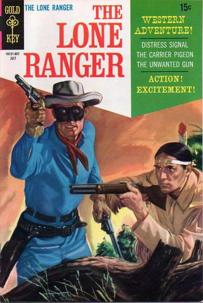 Cover for The Lone Ranger (Western, 1964 series) #11 [12-Cent Variant]