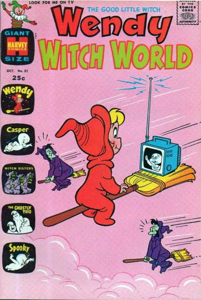 Cover for Wendy Witch World (Harvey, 1961 series) #31