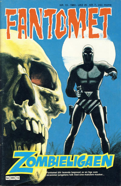 Cover for Fantomet (Semic, 1976 series) #13/1983