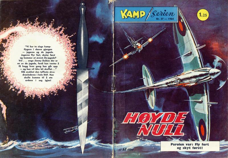 Cover for Kamp-serien (Serieforlaget / Se-Bladene / Stabenfeldt, 1964 series) #37/1964