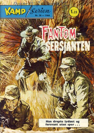 Cover for Kamp-serien (Serieforlaget / Se-Bladene / Stabenfeldt, 1964 series) #36/1964