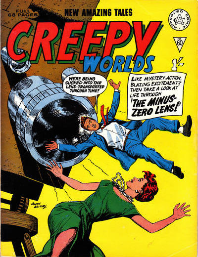 Cover for Creepy Worlds (Alan Class, 1962 series) #60