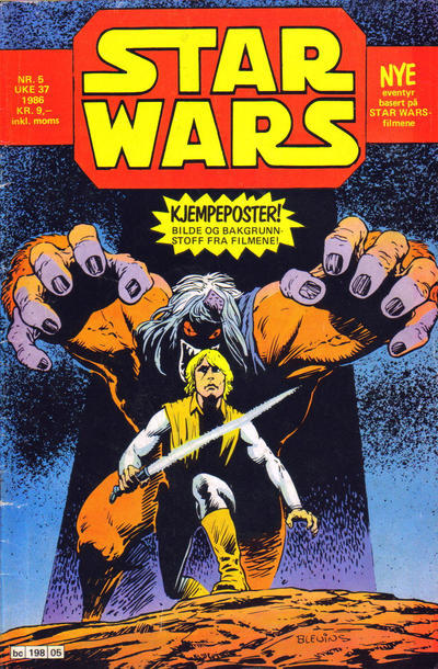 Cover for Star Wars (Semic, 1983 series) #5/1986