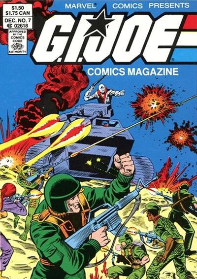 Cover for G.I. Joe Comics Magazine (Marvel, 1986 series) #7