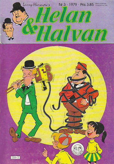 Cover for Helan och Halvan (Atlantic Förlags AB, 1978 series) #3/1979