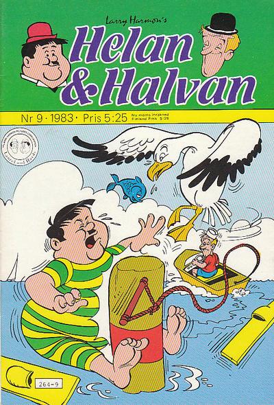 Cover for Helan och Halvan (Atlantic Förlags AB, 1978 series) #9/1983