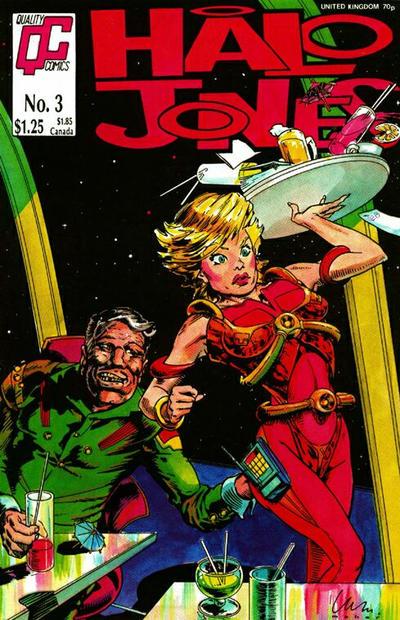 Cover for Halo Jones (Fleetway/Quality, 1987 series) #3