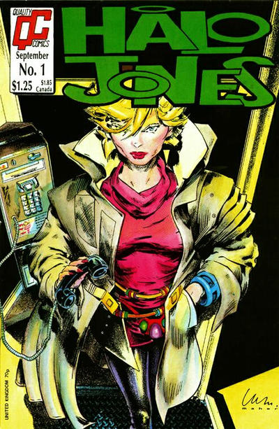 Cover for Halo Jones (Fleetway/Quality, 1987 series) #1
