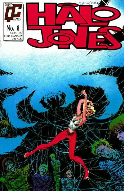 Cover for Halo Jones (Fleetway/Quality, 1987 series) #8